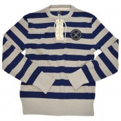 A Piece of Chic Club Jersey, deep blue/mastic grey