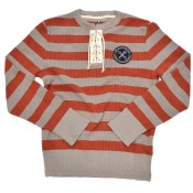 A Piece of Chic Club Jersey, rusty red/mastic grey