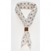 A Piece of Chic Japanese Cotton Bandana White