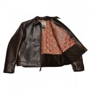 AERO Highwayman Quilted Red Rayon