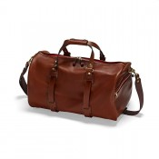 Croots Vintage Leather Duffle Hodall Port