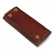 Croots Vintage Leather Worker Wallet Port