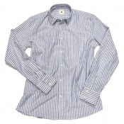 "Delikatessen ""Feel Good Shirt"" blue stripe"