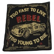Johnson Motors Bandana Rebel Black
