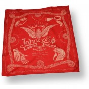 Johnson Motors Bandana red