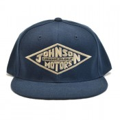 Johnson Motors Cap Diamond Navy