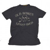 Johnson Motors  Old Bones Speed Shop Vintage Black