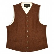 "Pike Brothers ""1923 Buccaneer Vest"" rust brown..."