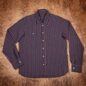 "Pike Brothers ""1937 Roamer Shirt"", iwaki blue"