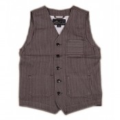 "Pike Brothers ""1937 Roamer Vest"", brown wabash"