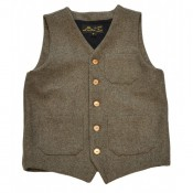 "Pike Brothers ""1937 Roamer Vest grey wool"""