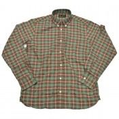 Pike Brothers 1959 Button Down Shirt, Treves Green