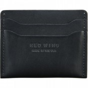 Red Wing Flat Card Holder Black