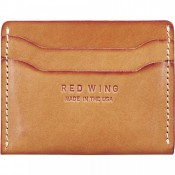 Red Wing Flat Card Holder London Tan