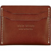 Red Wing Flat Card Holder Oro Russet