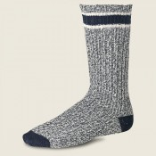 Red Wing Ragg Wool Stripe Socks Slate/Navy