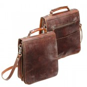 Rokker City Bag Men Dark Brown