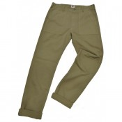 Tellason Fatigue Pant Herringbone oliv