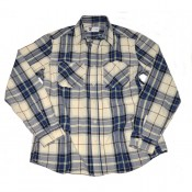 Tellason Utility Shirt Blue Check