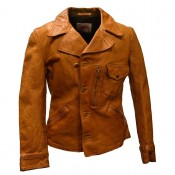 "Thedi Leathers ""Buffalo Jacket"" Tan"