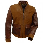 Thedi Leathers Leder/Canvas Mix