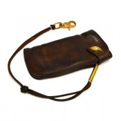 Thedi Leathers Wallet Dark Brown