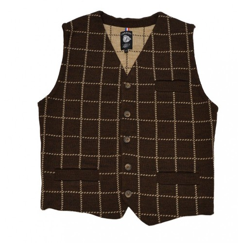 A Piece of Chic Westminster Vest Chestnut