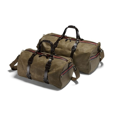 Croots Vintage Canvas Duffle Holdall Medium