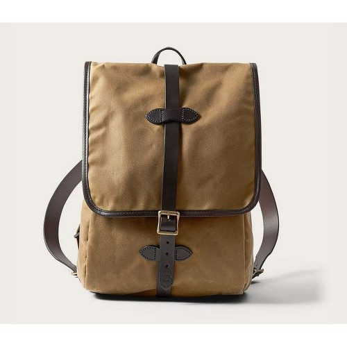 Filson Tin Cloth Backpack Tan