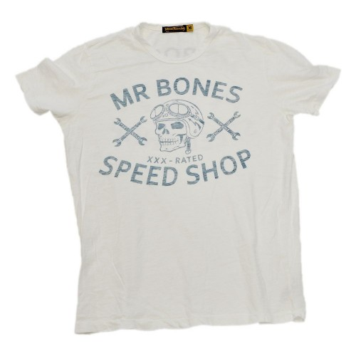 Johnson Motors  Mr. Bones Optic White