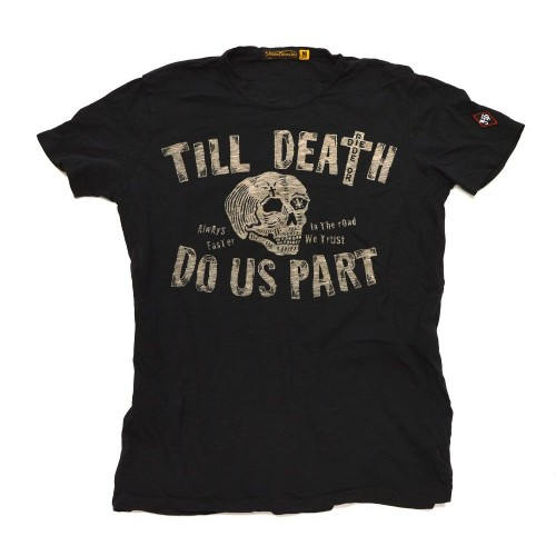 Johnson Motors  Till Death oiled Black