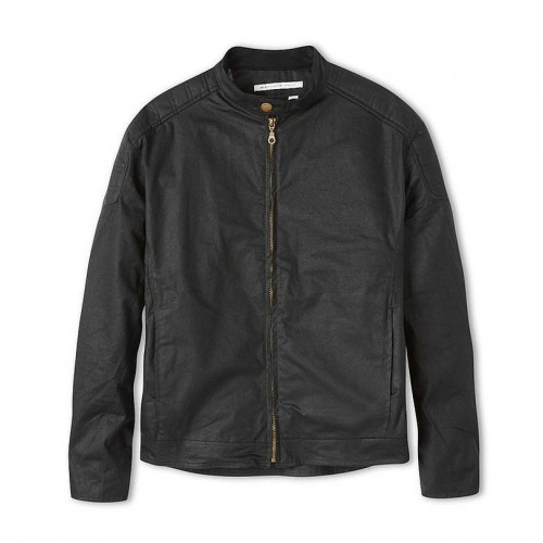 Peregrine Mens Biker Jacket Black