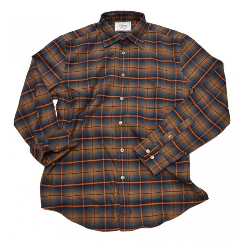 Portuguese Flannel Orange Check