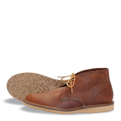 Red Wing Chukka Copper Rough & Tough