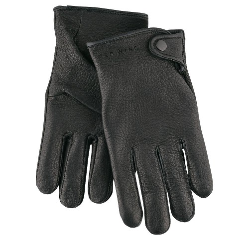 Red Wing Driver Gloves Black