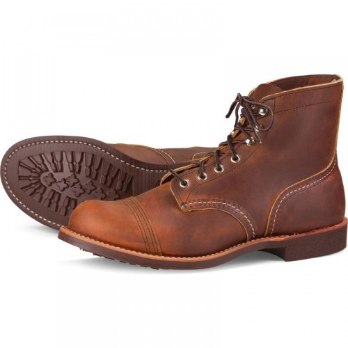 Red Wing Iron Ranger 8085, Copper Rough & Tough Leather
