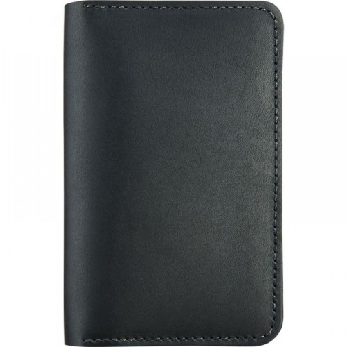 Red Wing Leather Passport Wallet Black