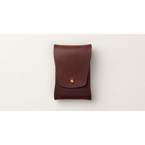 Tanner Goods Business Card Case dark oak
