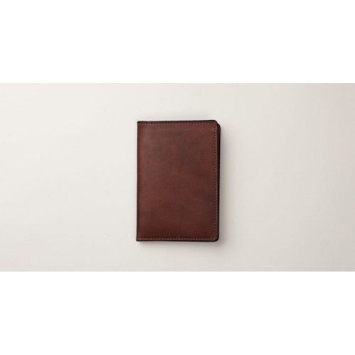 Tanner Goods Travel Wallet dark oak