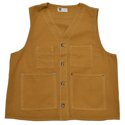 Tellason JK Vest Duck Canvas