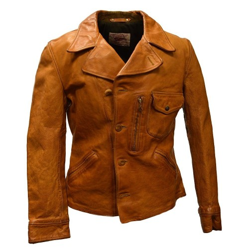 Thedi Leathers Buffalo Jacket Tan