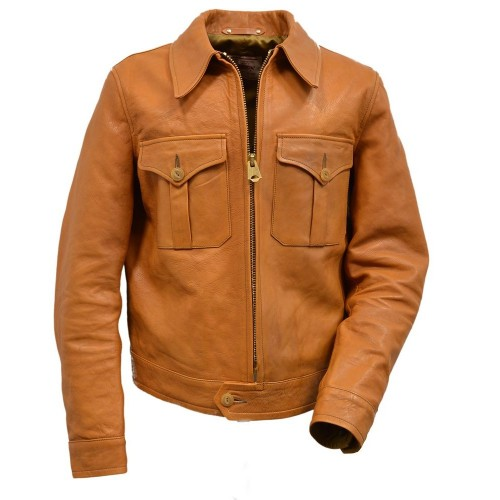 Thedi Leathers Horsehide Jacket Tan