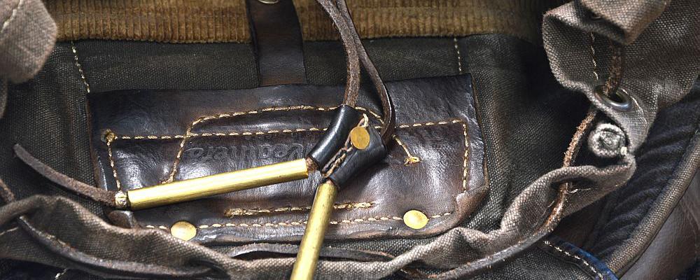 thedi leathers rucksack